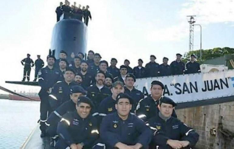 ARA San Juan: ascendieron post mortem a los 44 tripulantes del submarino