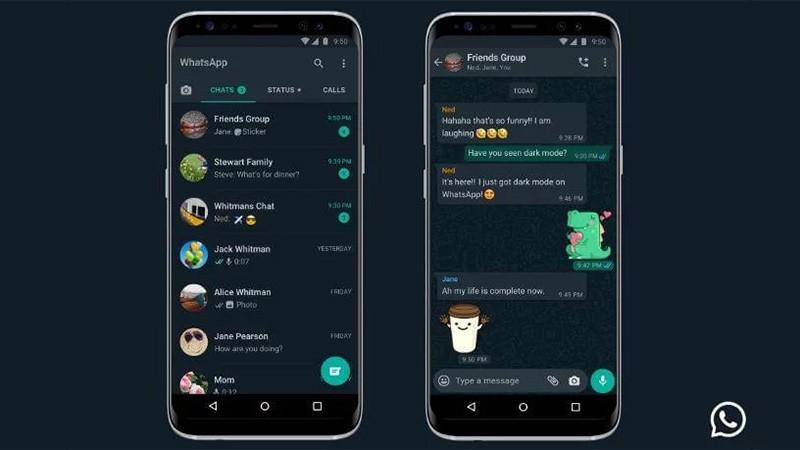 WhatsApp en modo oscuro: cómo configurarlo en los celulares