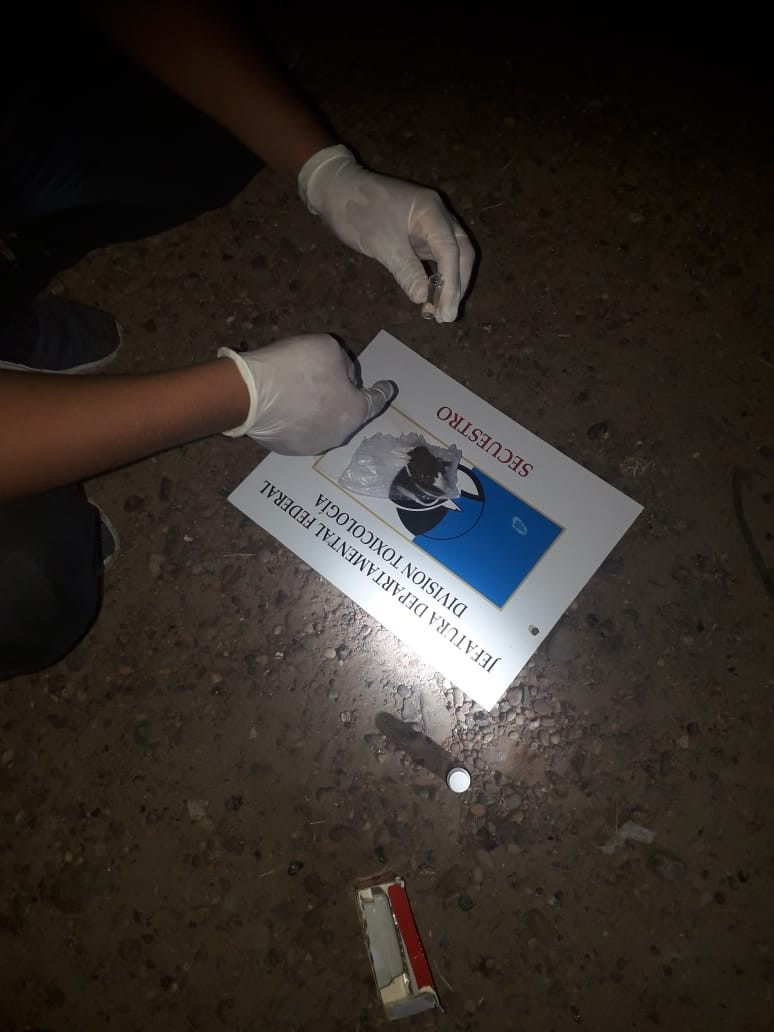 Intervención policial por Narcomenudeo