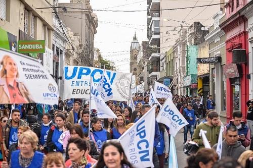 Trabajadores públicos paran este martes en Entre Ríos