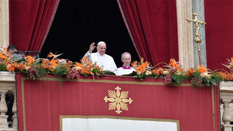 El Papa dará la bendición