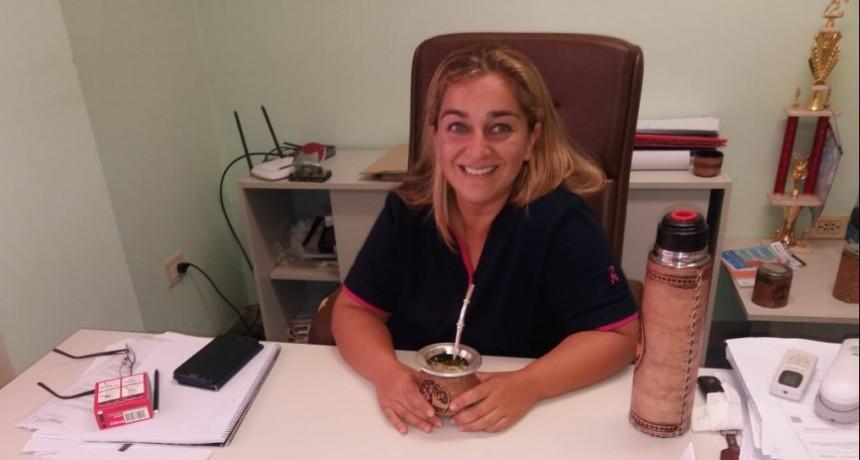 Licenciada Daniela Silva, directora del Hospital Urquiza expreso