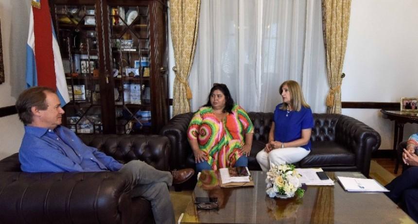 Bordet analizó con la senadora Miranda obras y gestiones para el departamento Federal
