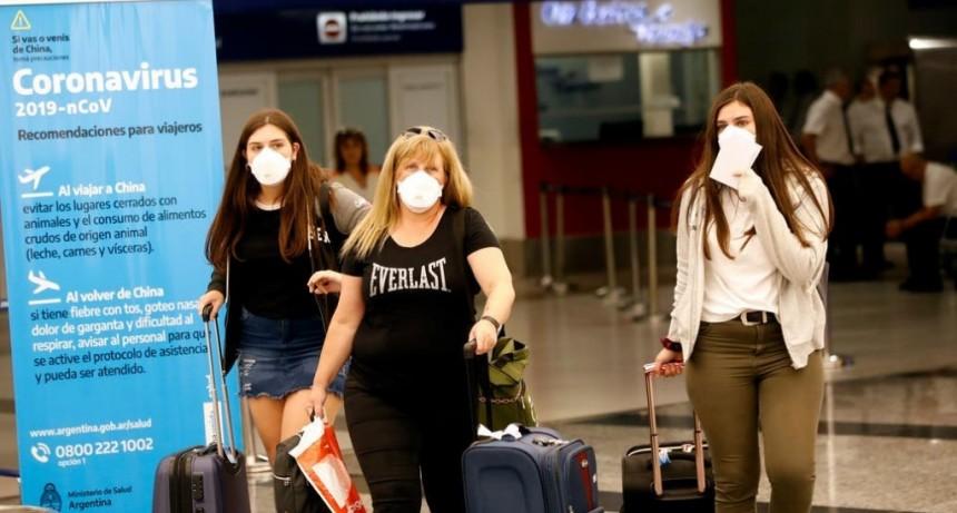 Argentina: disponen una licencia excepcional para trabajadores que regresen de zonas con coronavirus