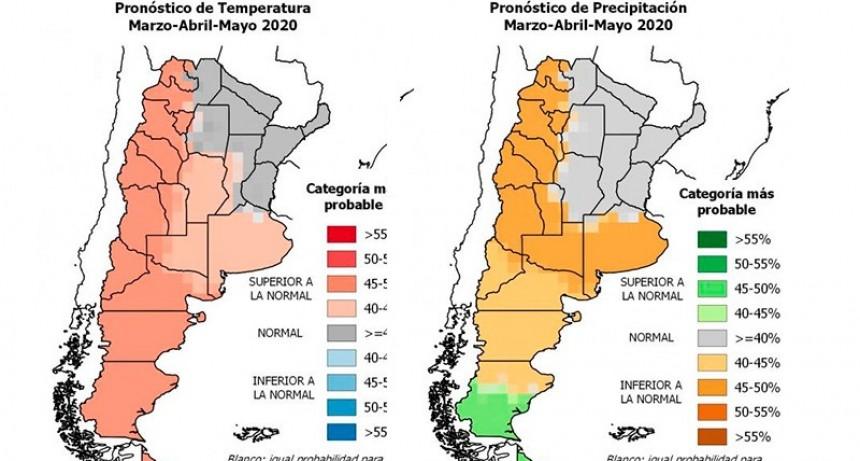 Pronostican que gran parte del país vivirá un otoño más caluroso que lo normal