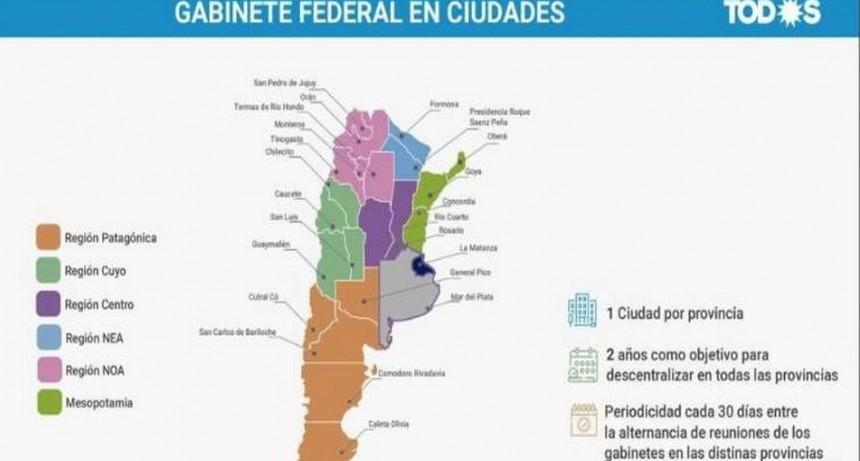 El Gobierno quiere descentralizar la administración nacional