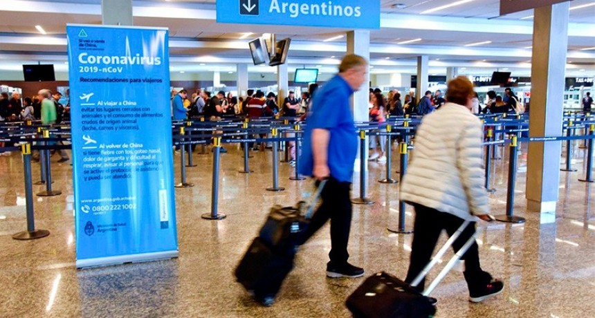 Argentina restringe ingreso de extranjeros de zonas afectadas por coronavirus