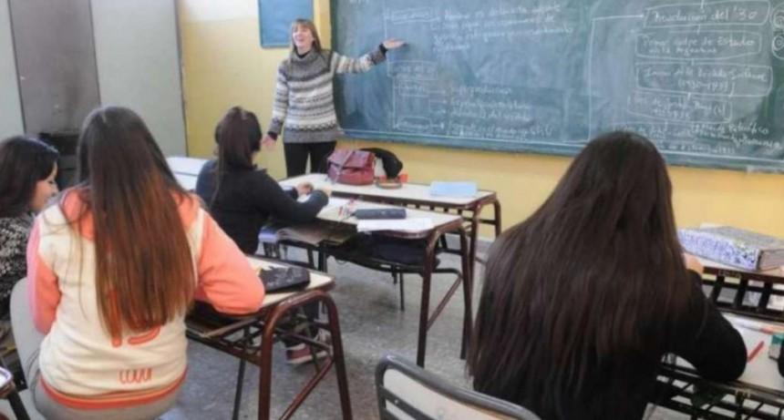 Suplencias docentes: Sólo se cubrirán cargos imprescindibles