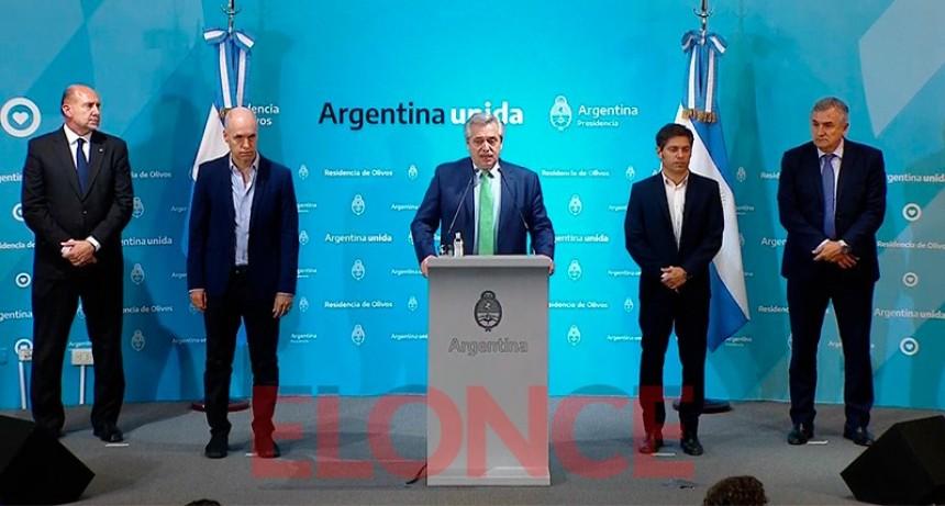 Fernández declaró aislamiento total: