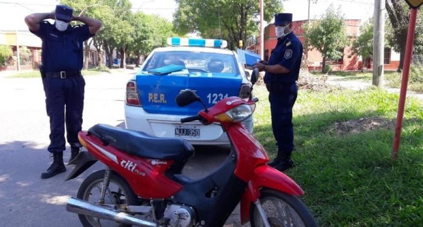 Personal policial viene fortaleciendo los controles en general en toda la ciudad
