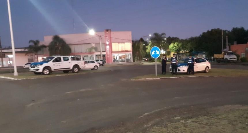 Tres personas fueron interceptadas en operativo por violar el Decreto de Necesidad y Urgencia