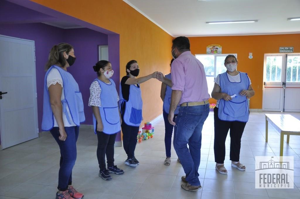 COMENZARON LAS CLASES DE NIVEL INICIAL EN EL CDI DE BARRIO EL SALTO