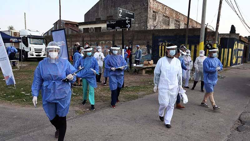Informaron 112 muertes y 4658 nuevos casos de covid-19