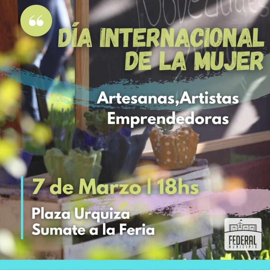 Feria  : Día Internacional de la Mujer