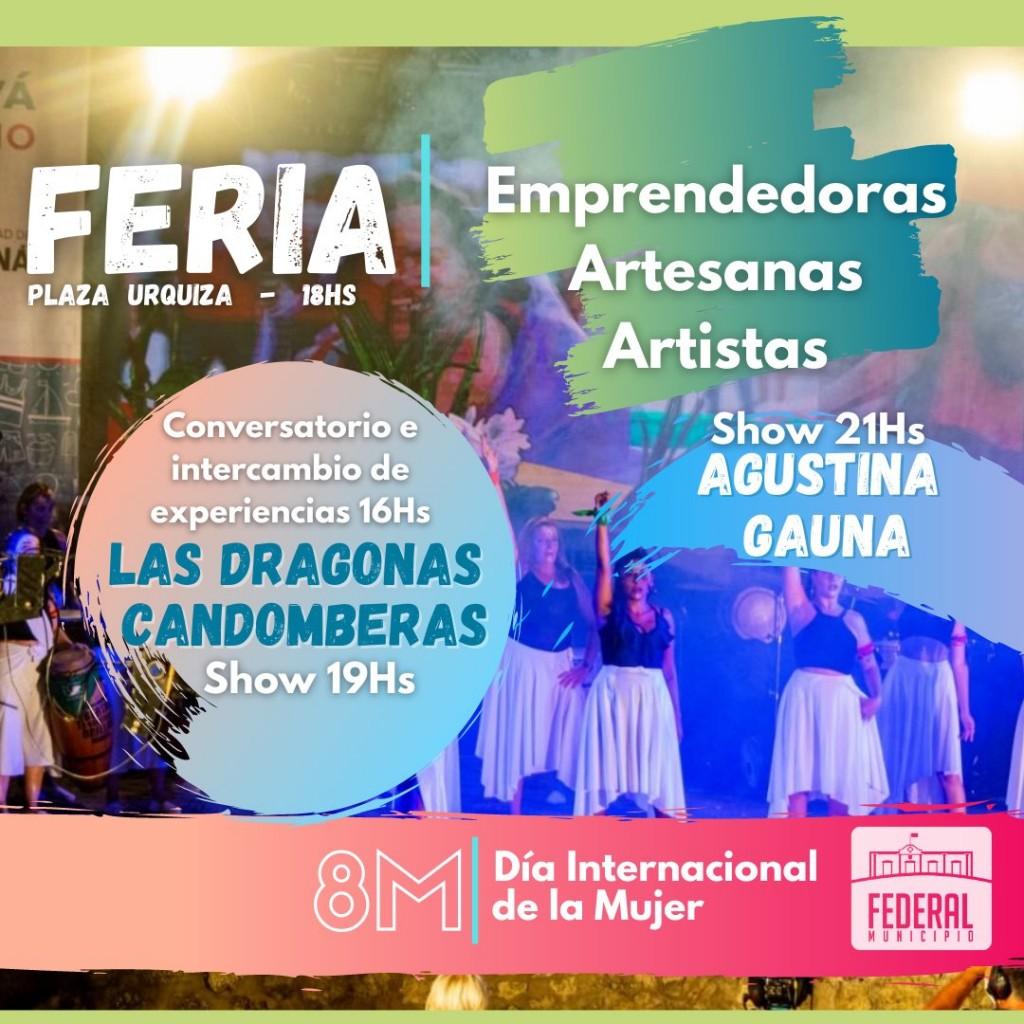 Feria en Plaza Urquiza