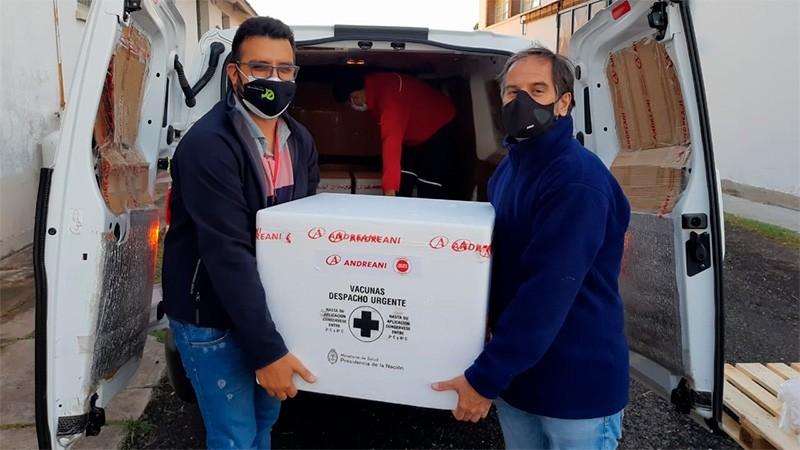 Llegaron a Entre Ríos las 12.500 dosis de vacunas Sinopharm contra el Covid-19