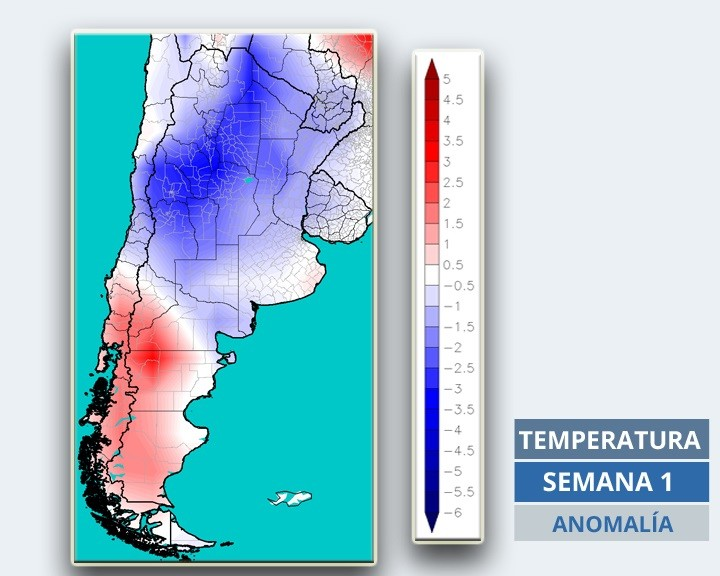 ¿Chau sequía?: pronóstico de lluvias y temperaturas para lo que resta de marzo