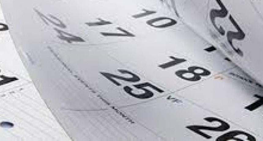 En marzo: El 24 será feriado