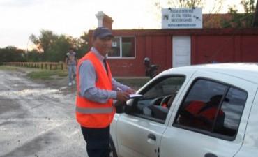 Controles de tránsito y secuestro de motovehículos