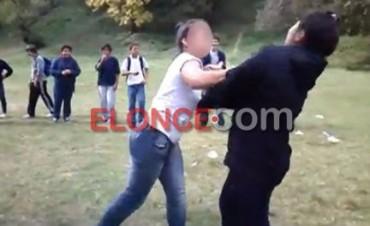 Difunden el video de feroz pelea entre alumnas de escuela paranaense. Video e Imágenes