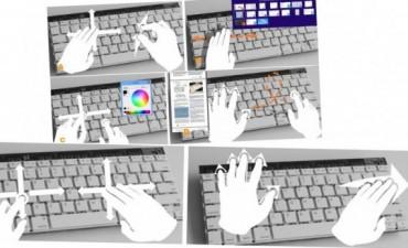 ¿Adiós al mouse? Microsoft trabaja en un teclado que recibe órdenes gestuales