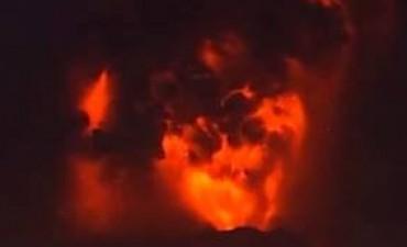 El volcán Calbuco tuvo una segunda erupción