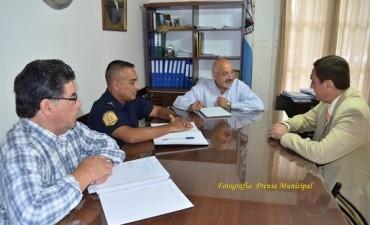 Felipe Torres recibió a distintas autoridades e instituciones