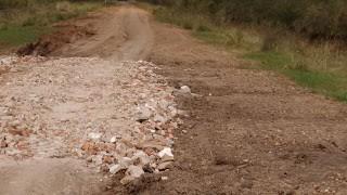 Consecuencia de las intensas lluvias: Caminos intransitables en Colonia Federal