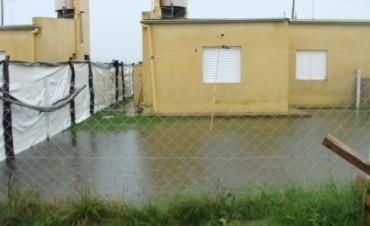 Las abundante precipitaciones también complicaron las viviendas del IAPV