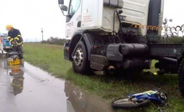 Accidente fatal en la ruta 127 cerca de El Pingo