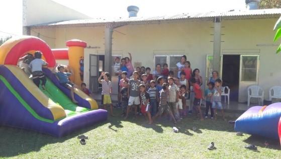 LOS CHICOS DEL CDI COMPARTIERON UNA ACTIVIDAD RECREATIVA