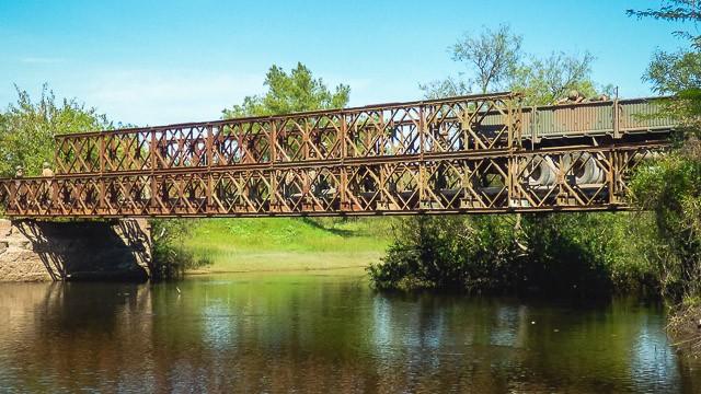 Con un crédito del BID, el gobierno reemplazará los puentes Bailey entrerrianos