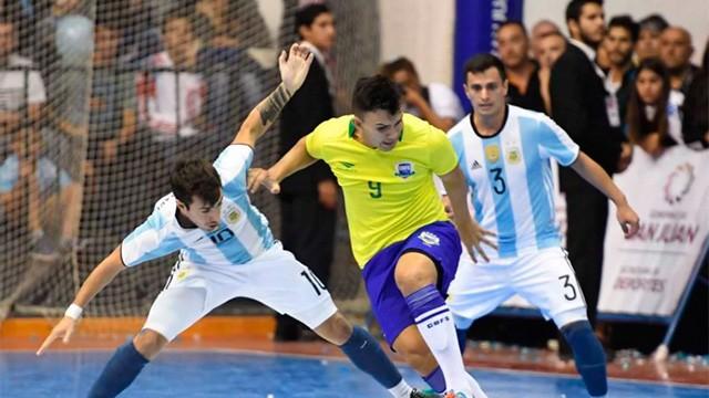 Brasil derrotó a Argentina y se quedó con la Copa América de Futsal