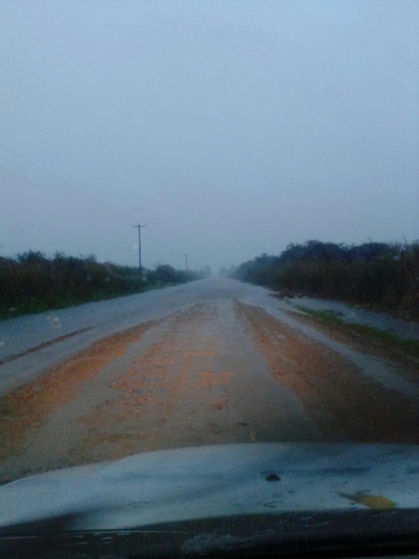 Federal afectada por las intensas lluvias