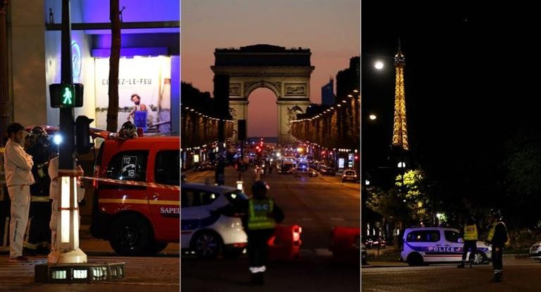 Francia bajo alerta: dos muertos por tiroteo en centro de París (investigan si se trata de un acto terrorista)