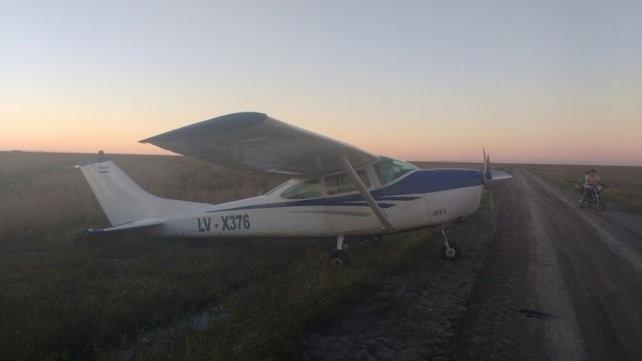 Cayó una avioneta cerca de Federal y buscan al piloto