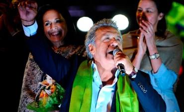 ''Seré el presidente de todos'', aseguró Moreno tras ser electo en Ecuador
