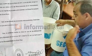 Santa Elena dio el aumento más pobre de Entre Ríos