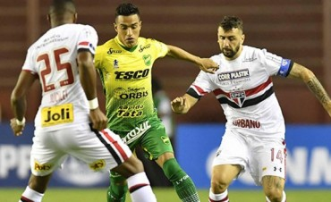 Defensa y Justicia empató como local en su debut copero ante San Pablo