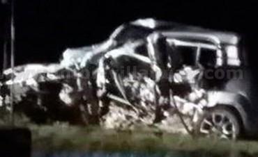 Tragedia de ruta entrerriana: Dos muertos al chocar un auto contra un camión