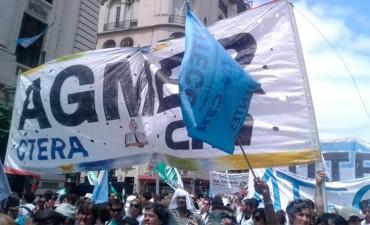 AGMER adhiere al paro nacional dispuesto por CTERA contra la represión