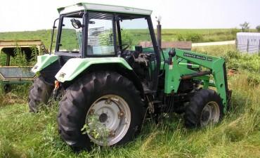 Secuestran tractor en zona rural de la Ruta N 22