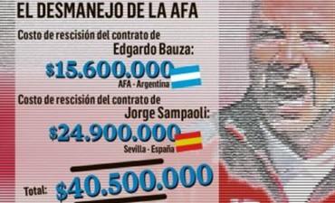 El capricho de Sampaoli le puede costar a la AFA $ 10 millones por partido