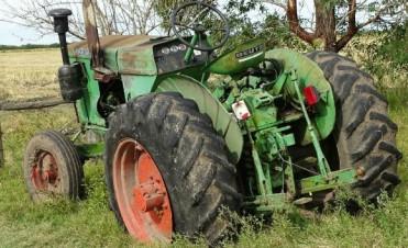 Tractor robado en Ubajay fue recuperado en Federal