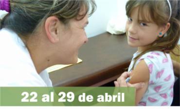La provincia intensifica los esquemas de vacunación para el ingreso escolar y contra el VPH