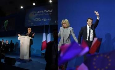 Francia: Macron y Le Pen encabezan reñidas elecciones y deberán definir en balotaje