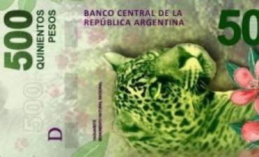 Circulan billetes falsos de 500 pesos