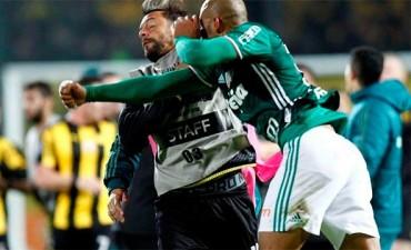 Fotos y video: Batalla campal tras un partido de la Copa Libertadores