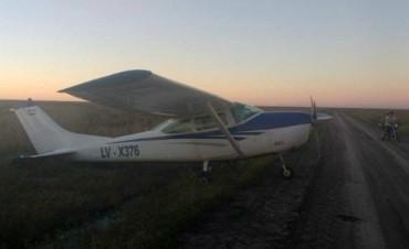 Avioneta abandonada: la matrícula es robada