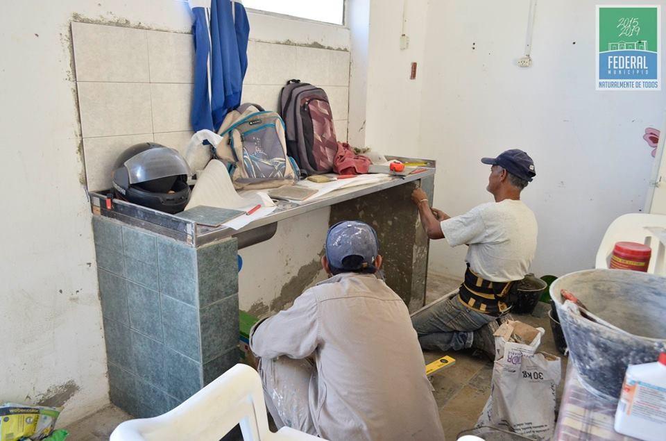 Importantes remodelaciones en el Centro de Primera Infancia de Campo de Mayo